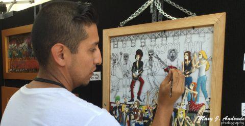 Fiesta de Artes en Los Gatos, California