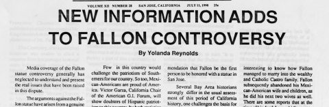 NEW INFORMATION ADDS TO FALLON CONTROVERSY