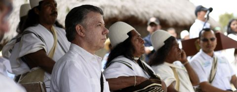 Colombia needs peace with nature after deal with rebels, president says