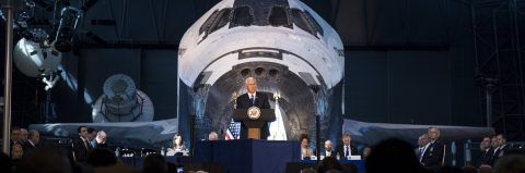 US wants to send astronauts to the moon, explore Mars