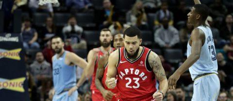 Los Raptors ganan a los Grizzlies el duelo de líderes; los Nuggets se exhiben ante los Lakers