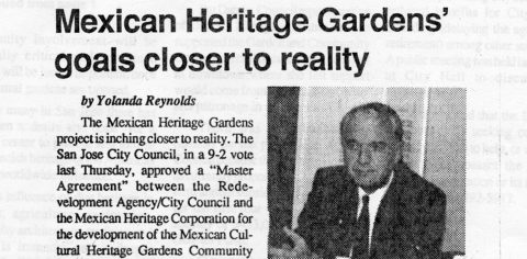Mexican Heritage Gardens' goals closer to reality