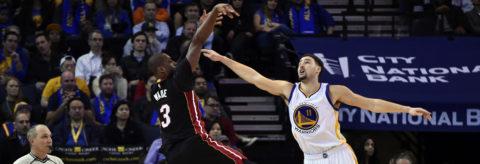 126-125. Wade sella con un triple la victoria sorpresa de los Heat ante los Warriors