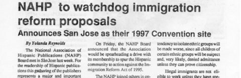 NAHP to watchdog immigration reform proposals