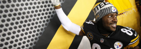Brown agradece el contrato con los Raiders después de dejar a los Steelers