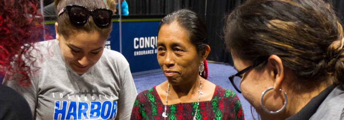 First Guatemalan Maya woman runs Los Angeles Marathon