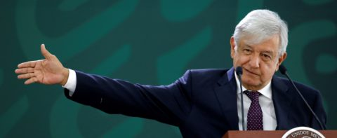 Mexican president denies friction with US