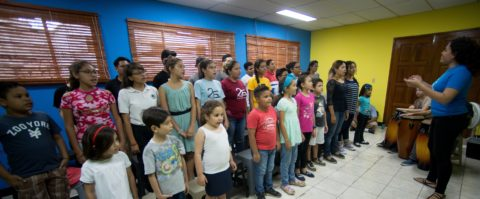 NGO gives poor Nicaraguan kids opportunity to live their musical dreams