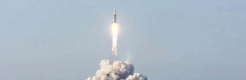 SpaceX successfully launches Falcon Heavy rocket, deploys Arabsat-6A