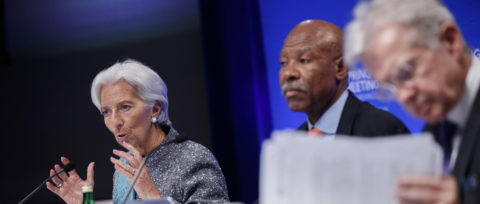 IMF ends biannual meetings without consensus on recognizing Guaido