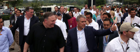 Pompeo urges Maduro to allow entry of humanitarian aid into Venezuela