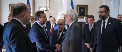 Piñera asks Lima Group for greater unity with Contact Group on Venezuela