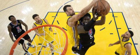 131-135. Lou Williams lidera la remontada de 31 puntos de Clippers ante Warriors