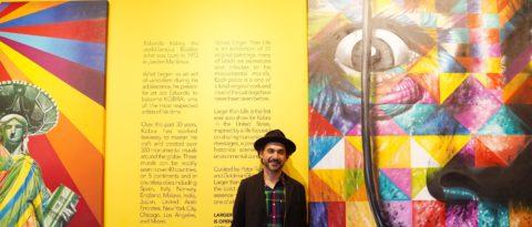 The street is a graffiti artist's museum, Brazil's Kobra says