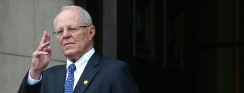 Peru ex-president detained as part of corruption probe